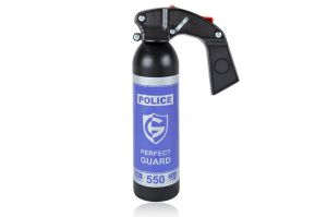 Gaz pieprzowy Police Perfect Guard 550 - 550 ml. żel - gaśnica