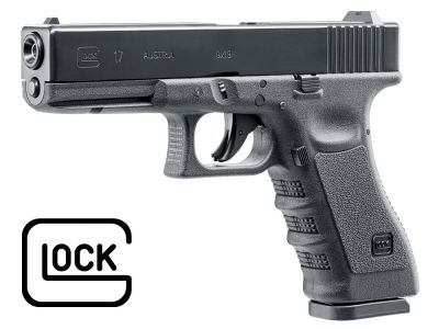 Pistolet CO2 Umarex Glock 17 Blow Back 4,5 mm diabolo BB 5.8365