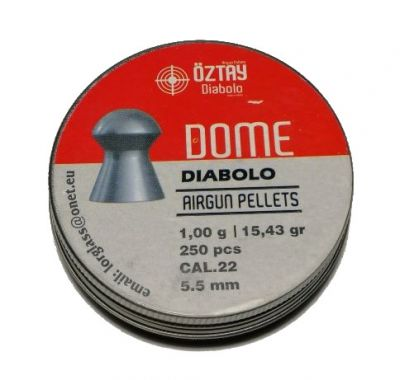 Śrut Oztay Dome 5,5 mm/250