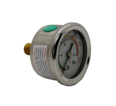 Manometr Glicerynowy PCP 46 mm 40MPA/6000PSI M10 * 1
