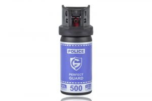 Gaz pieprzowy Police Perfect Guard 500 - 50 ml. żel
